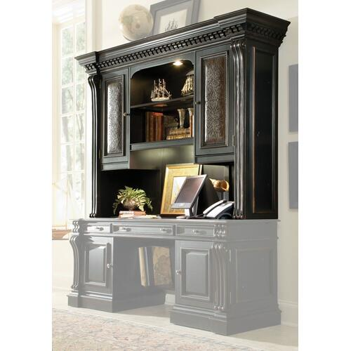 Hooker Furniture - Home Office Telluride Computer Credenza Hutch