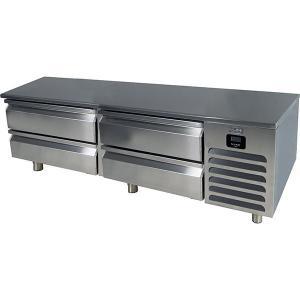 "U-Line72"" Freezer Base With Stainless Solid Finish (115v/60 Hz Volts /60 Hz Hz)"