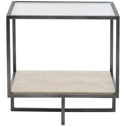 Gallery - Harlow Metal Square End Table