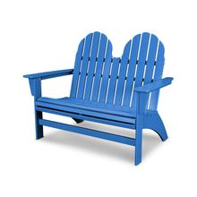 Pacific Blue Vineyard Adirondack Bench