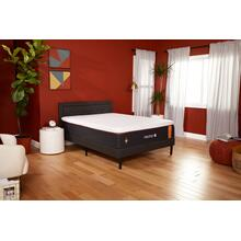Copper Luxury Firm Non-Quilted Smooth Top Twin Memory Foam Mattress