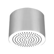 "Round SEGNI ceiling-mounted shower head 1/2"" connections Projection from ceiling 10-5/8"" Max flow rate 1"