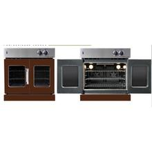 See Details - Residential Wall Oven, French Door Wall Oven , Brown Color