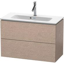 Vanity Unit Wall-mounted Compact, Cashmere Oak