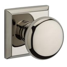 Polished Nickel Round Reserve Knob