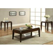 ACME Docila Coffee Table w/Lift Top - 80660 - Walnut