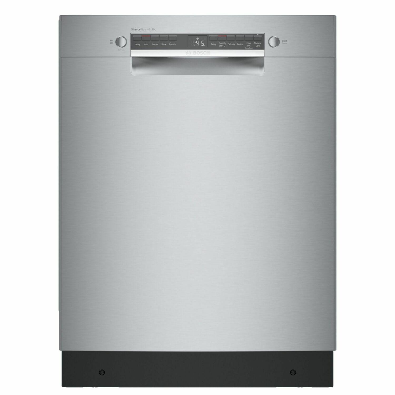 Bosch300 Series Dishwasher 24'' Stainless Steel Sge53b55uc