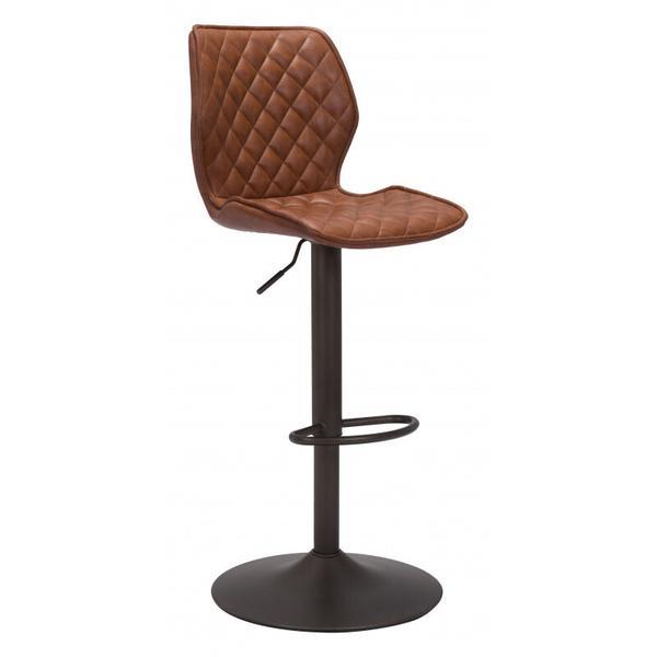 See Details - Seth Bar Chair Vintage Brown
