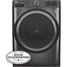 ®4.8 cu. ft. Capacity Smart Front Load ENERGY STAR® Washer with UltraFresh Vent System with OdorBlock™ and Sanitize w/Oxi