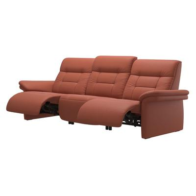 See Details - Stressless® Mary 3 seater with 2 motors arm upholstered