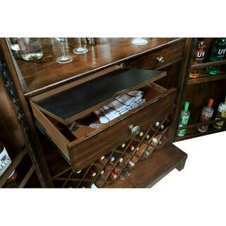 See Details - Howard Miller Rogue Valley Wine & Bar Cabinet 695122