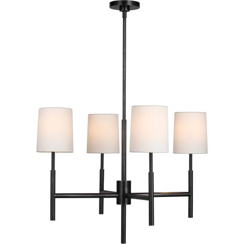 Visual Comfort - Barbara Barry Clarion LED 28 inch Bronze Chandelier Ceiling Light, Small