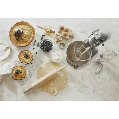 KitchenAid - Deluxe 4.5 Quart Tilt-Head Stand Mixer - Silver