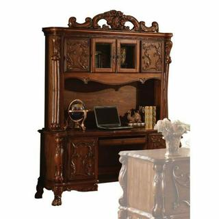 ACME Dresden Computer Desk & Hutch - 12172 - Cherry Oak