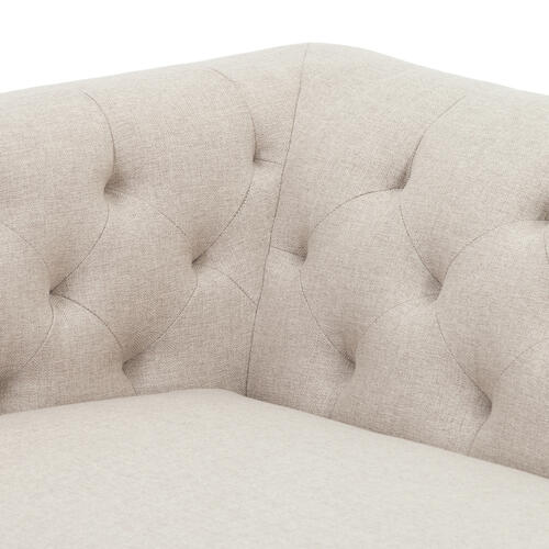 Phillippe Oatmeal Cover Baldwin Sofa