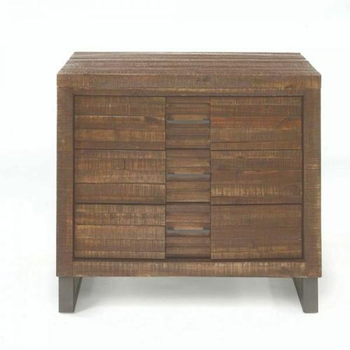 ACME Andria Nightstand - 21293 - Reclaimed Oak
