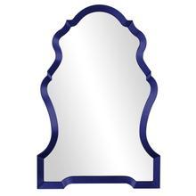 View Product - Nadia Mirror - Glossy Navy