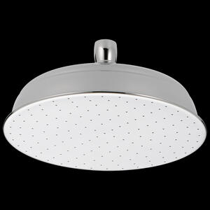 Chrome Single-Setting Metal Raincan Shower Head Product Image