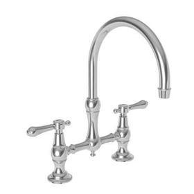 Venetian Bronze Kitchen Bridge Faucet