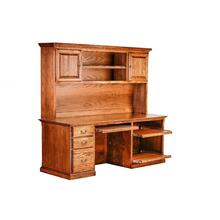 Forest Designs Traditional Oak Desk & Huch: 78w x 72h (No Tower)
