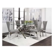 Luxe/asher Gray 7pc Set