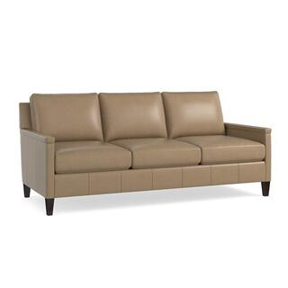 See Details - Miranda Leather Sofa