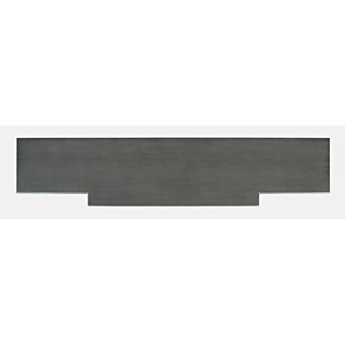 Jofran - Carrington Large Breakfront Cabinet - Grey