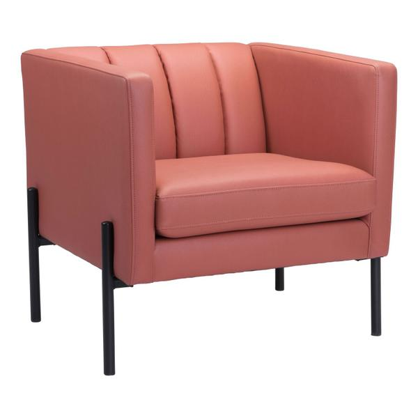 See Details - Jess Accent Chair Rust