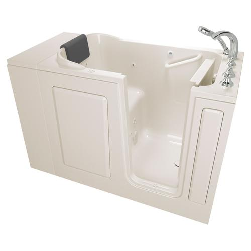 Premium Series 28x48 Whirlpool Walk-in Tub  Right Drain  American Standard - Linen