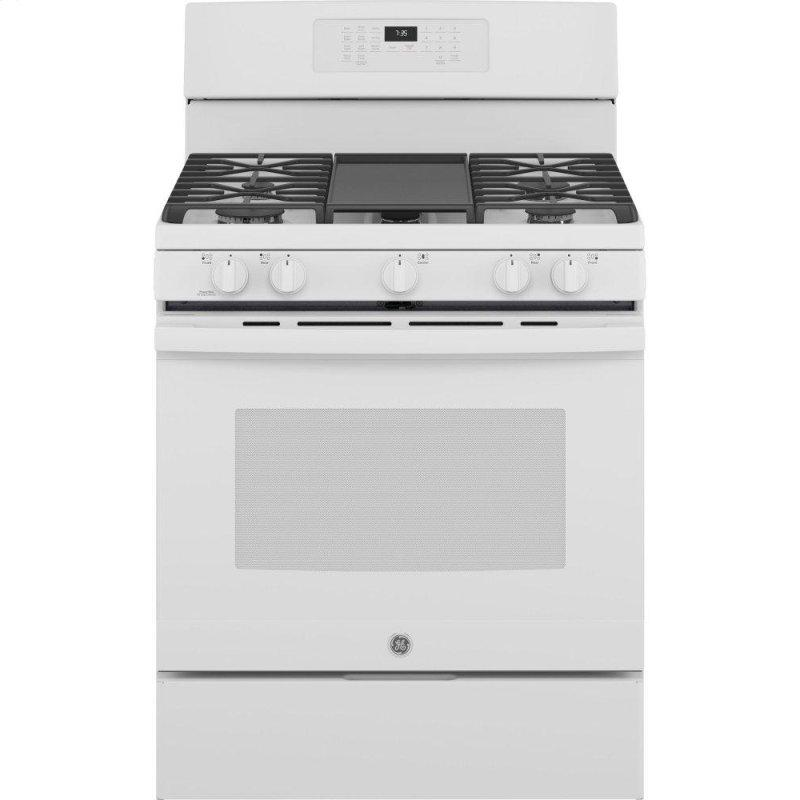 "30"" Free-Standing Gas Convection Range with No Preheat Air Fry"