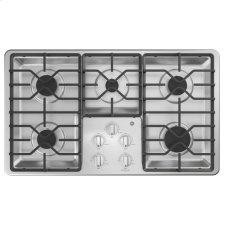 """®36"""" Built-In Gas Cooktop with Dishwasher-Safe Grates"""