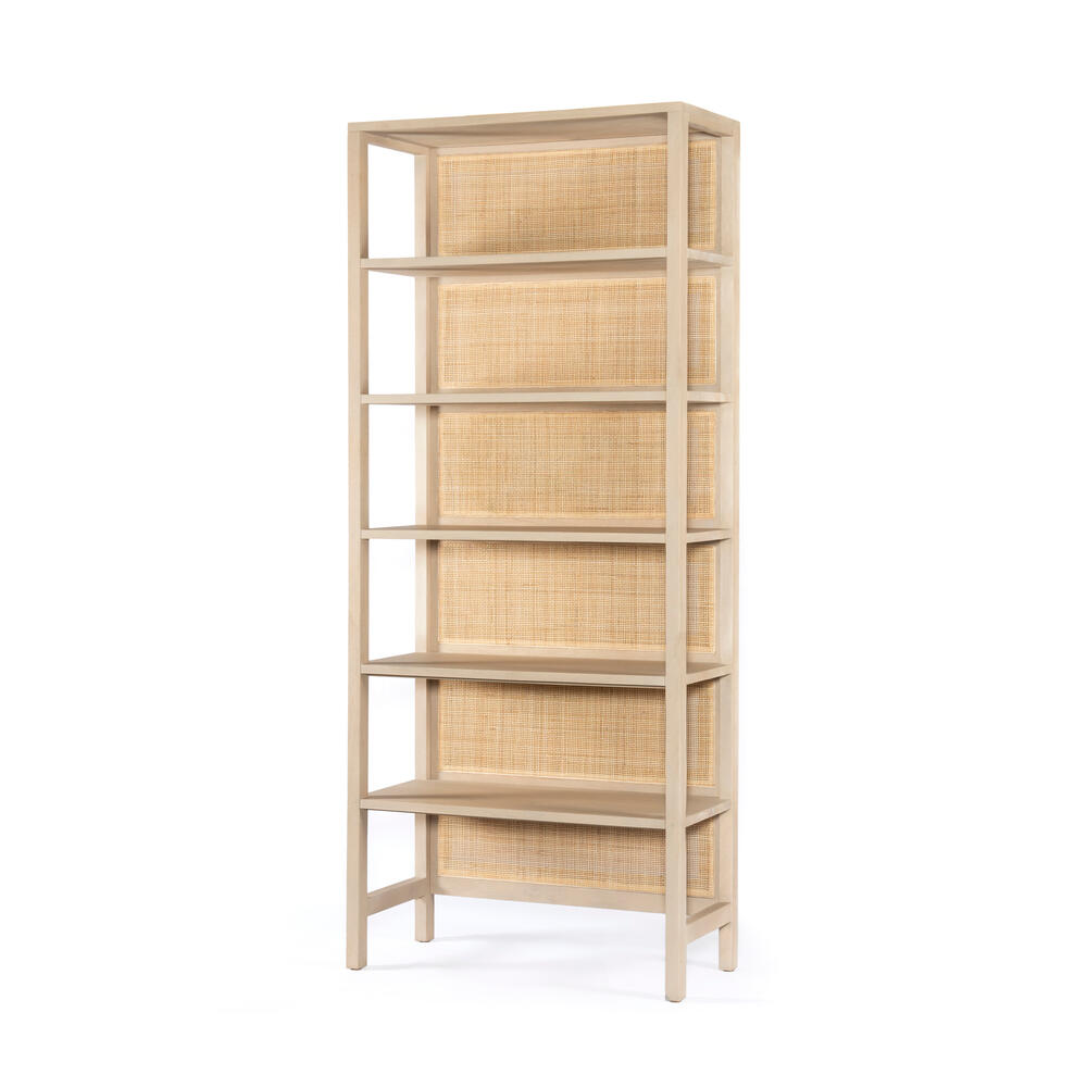 Natural Mango Finish Caprice Large Bookshelf