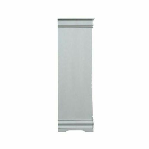 ACME Louis Philippe III Chest - 26706 - Platinum