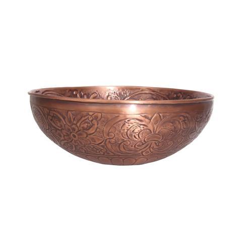 "Arandas 15"" Copper Vessel"