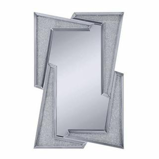 ACME Noralie Wall Decor - 97571 - Mirrored & Faux Diamonds