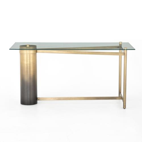Gaye Desk-ombre Antique Brass Iron