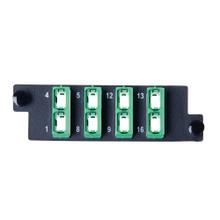 See Details - HDFP Adapter Panel with 8 MPO Adapters, Opposed Key - Green