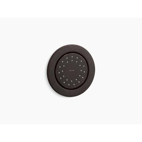 Oil-rubbed Bronze Round 27-nozzle 1.0 Gpm Body Spray With Katalyst Air-induction Technology