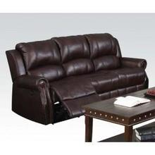 See Details - Brown Motion Sofa