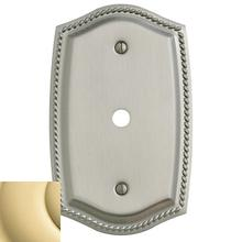 See Details - Polished Brass Rope Cable Cover