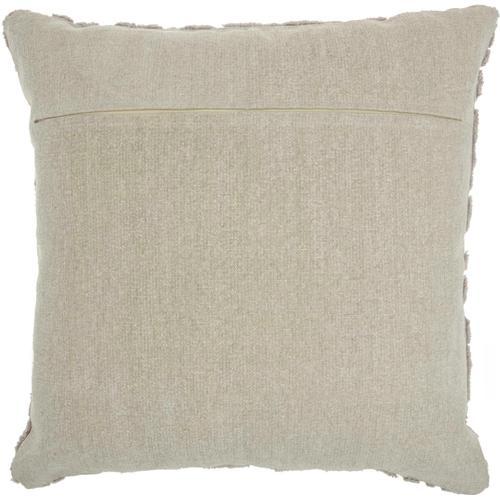 """Life Styles Gt746 Khaki 24"""" X 24"""" Throw Pillow"""