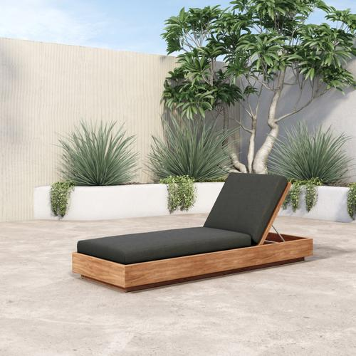 Charcoal Cover Kinta Outdoor Chaise