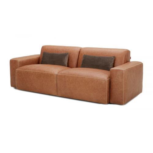 VIG Furniture - Divani Casa Galena Modern Brown Sofa