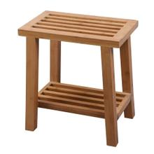 "Bamboo Shower Stool 17""x19"""