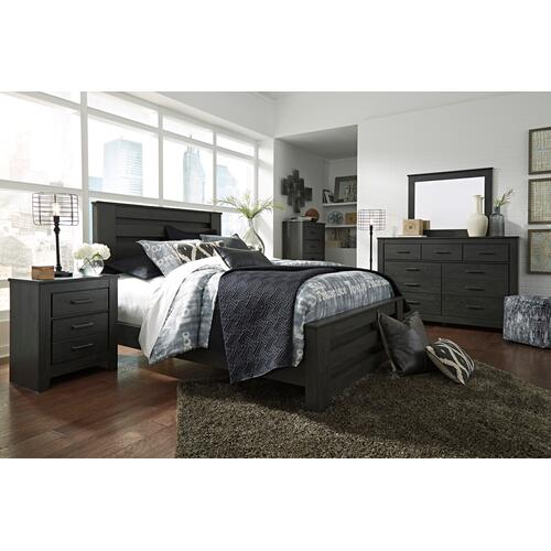 Brinxton - Charcoal 3 Piece Bed Set (Queen)