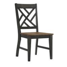 See Details - Harper Lattice Back Chair