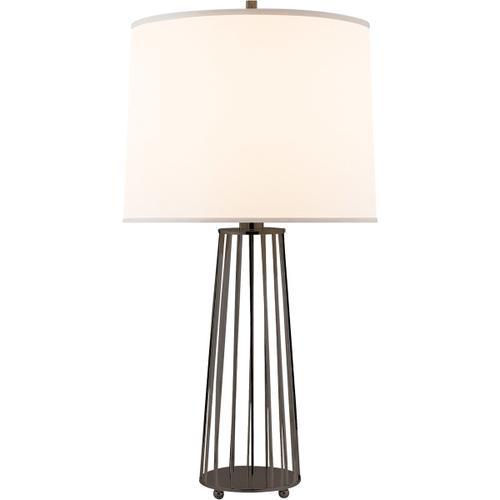Barbara Barry Carousel 31 inch 150 watt Bronze Decorative Table Lamp Portable Light