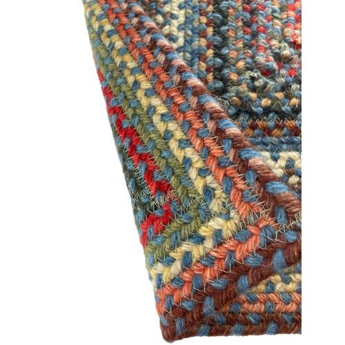 Americana Colony Blue Braided Rugs