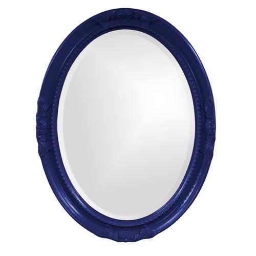 Howard Elliott - Queen Ann Mirror - Glossy Navy