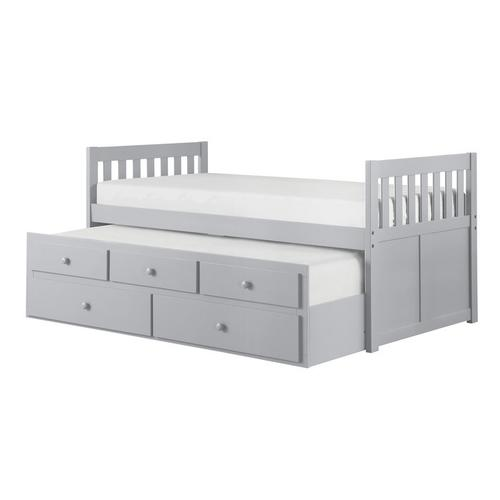 Homelegance - Twin/Twin Trundle Bed